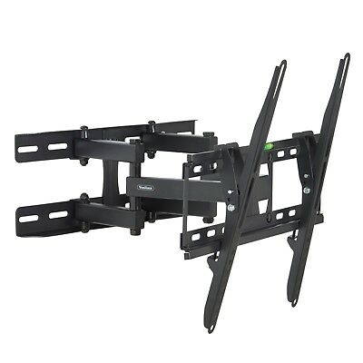 "VonHaus Full Motion TV Wall Mount Bracket 23""-56"" Swivel for LCD LED Plasm TV's"
