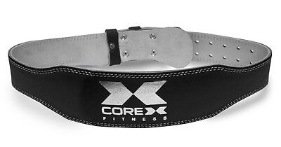 Special Offer - CoreX Fitness - Leather Weightlifting Belt Strength Fitness