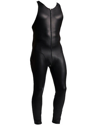 MANSTORE - M510 - Athletic Suit - Latex Imitat Body - schwarz