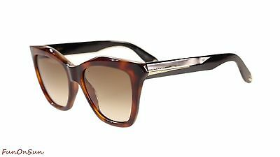 c5deac6cb5 Givenchy Women's Sunglasses GV7008 QON Havana Black/Brown Gradient Lens Cat  Eye
