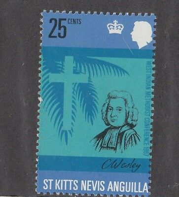 St. Kitts 1967 Conferenza metodista 200 Mnh