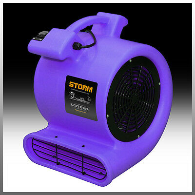 Contair® STORM Air Mover Carpet Dryer Blower Floor Fan High CFM Purple Color MAX