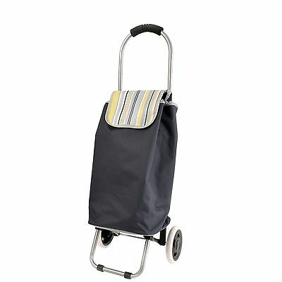 Lightweight Shopping Trolley Travel Luggage Outdoor Insulated Storage Bag Zippy