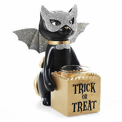 Yankee Candle  Sophia the Cat Trick Or Treat Votive/Tea Light Holder SOLD OUT