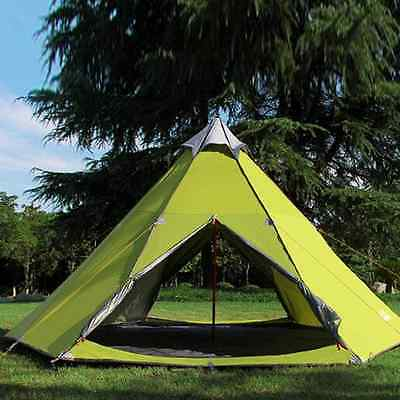 5-6 Outdoor Windbreak Pergola Tower Post Camping Mosquito Net Yurt 10x10' Teepee