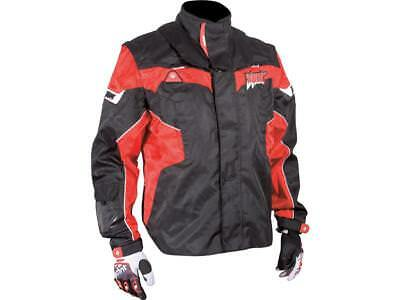 SHOT Cross Enduro Jacke FLEXOR schwarz-rot Gr. 50-58
