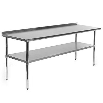 Gridmann NSF Stainless Steel Commercial Kitchen Prep & Work Table - 60 in. x 30
