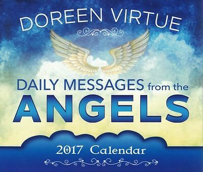 Daily Messages From The Angels 2017 Calendar by Doreen Virtue NEW & Boxed