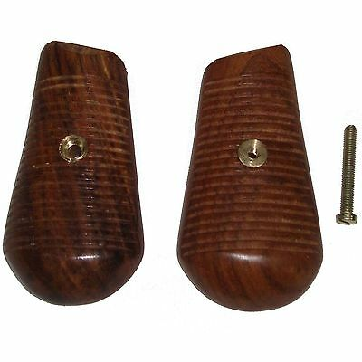 WWII German Broomhandle C96 9mm Mauser Wooden Grips - Reproduction