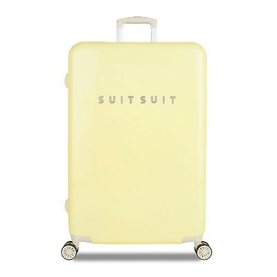 SuitSuit Hartschalenkoffer - FABULOUS FIFTIES 77cm Mango Cream TSA-Trolley