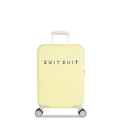 SuitSuit Hartschalenkoffer - FABULOUS FIFTIES 52cm Mango Cream TSA Trolley