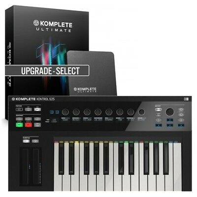 Native Instruments Komplete Kontrol S25 Midi Keyboard & Komplete 11 Ultimate UPG