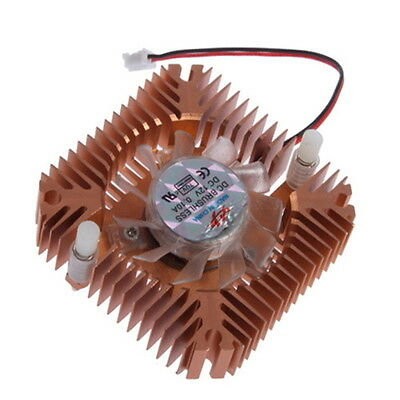 New Cooling Fan Heatsink Cooler For CPU VGA Video Card J#~