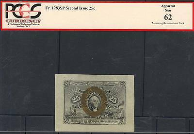 Fr1283Sp 25¢ Fractional Currency Specimen 2Nd Issue Pcgs 62 (App.) New Bt2546
