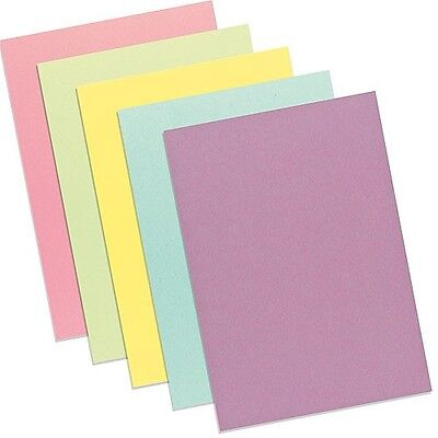 20 Sheets A4 Pastel Card Assorted Pastel Colours Creative Fun Hours of Great New