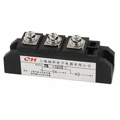 Rectifier Diode Module MDC-75A 3 Terminals MDC 75A 1600V for contravariant