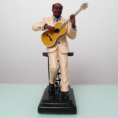 2014 NEW Jazz guitarist figure sculpture statue ornament crafts ornaments piano