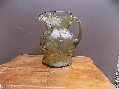 Morgantown Crinkle yellow Topaz Ockner pitcher