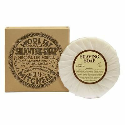 Mitchells Wool Fat Shaving Soap Refill with Lanolin (Great for Sensitive Skin)