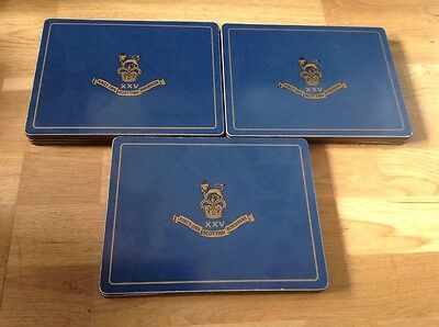 12 Place Mats by Regimental Replicas. ( Kings Own Scottish Borderers XXV ).