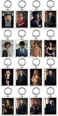 Peaky Blinders Classic Tv Show And Dvd Select Your Character Keyrings