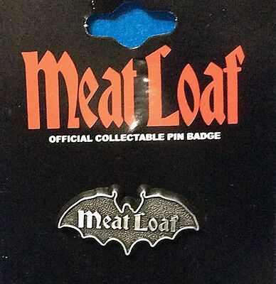 Meat Loaf Bat Out Of Hell Fan Collector Pin