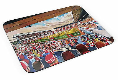 Highbury Stadium Art Mouse Mat - Arsenal FC