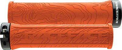 NEW Race Face Half Nelson Lock-On Grip Orange
