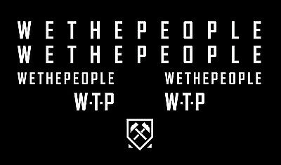 WETHEPEOPLE sticker pack WTP