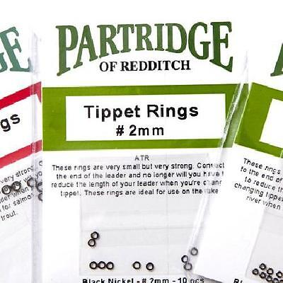 Partridge Tippet Rings - 1mm, 2mm, 3mm