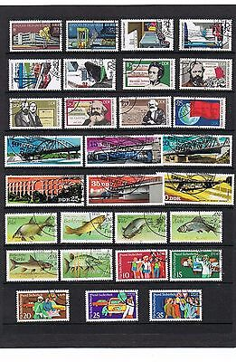 STAMPS  GERMANY - DDR SELECTION  of 29     (FU - CTO)    lot 1237