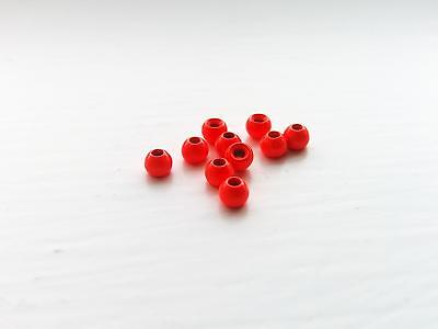 Fluoro Red Tungsten Beads