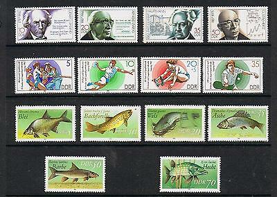 STAMPS  GERMANY - DDR SELECTION  of 14     (MNH)    lot 1241