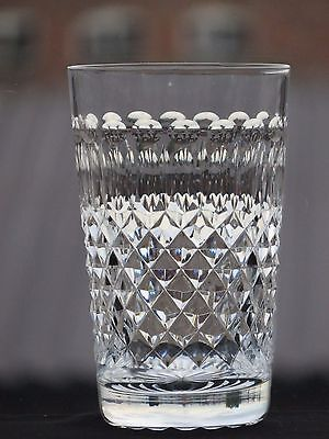 Gorgeous Crystal Cut Glass Tumbler Possibly Waterford?