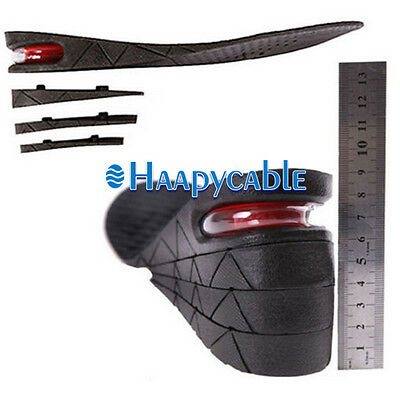 New Men Women Insole Air Cushion 1 to 4 Layer Increase Height Lift 3/5/7/9 cm
