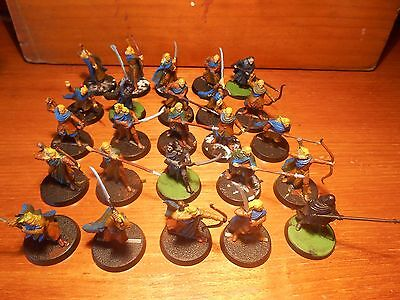 Wood Elf Warrior x 25 lotr sbg warhammer games workshop hobbit lord of the rings