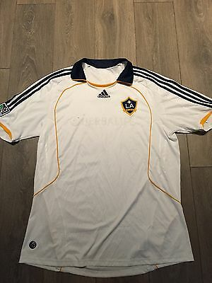 LA Galaxy Home Shirt 2008/09 Beckham 23 Official XL Rare