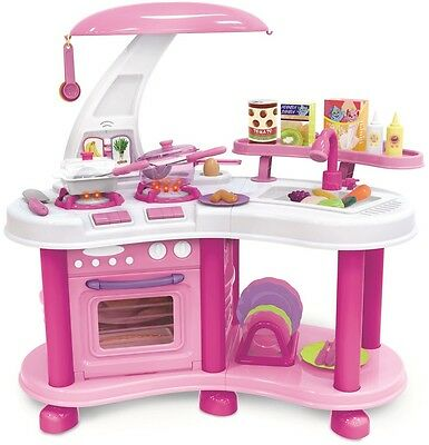Kids Girls Kitchen Toy Pretend Play Role Cooking Set Children Cooker Food Toys