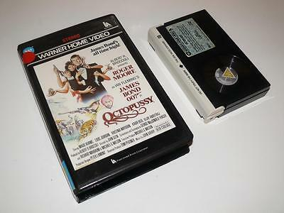 Betamax Video ~ Octopussy ~ James Bond 007 ~ Pre-Cert Ex-Rental ~ Warner