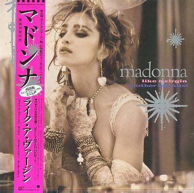 MADONNA like a virgin & other hits LP PINK VINYL FACTORY SEALED RSD 2016