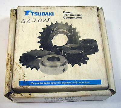 Tsubaki H40B18F-1 Hardened Roller Chain Sprocket in Factory Box NOS