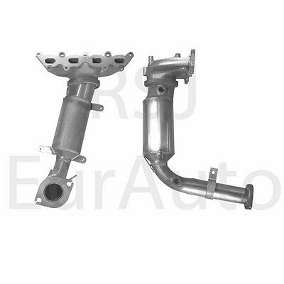 BM91017H Quality Replacement Type Approved Exhaust Manifold Catalytic Converter