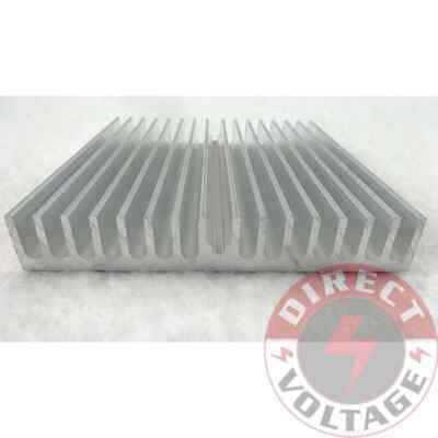 1pc 60*60*10mm Silver Aluminum Heat Sink for LED and Power IC Transistor