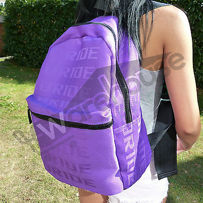 2017 JDM Bride Purple Backpack with Sparc black straps Top 3 Backpacks