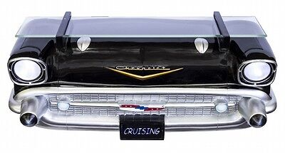 GM Chevrolet 1957 Chevy Bel Air Front End Wall Shelf Light Man Cave Furniture