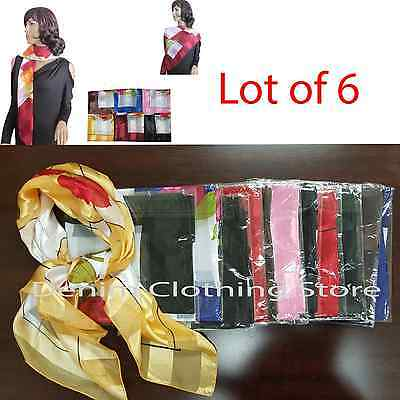 462017  ^ Infinity Circle  Scarves Solid Colors  For Women 1Pc or 6Pc Lot