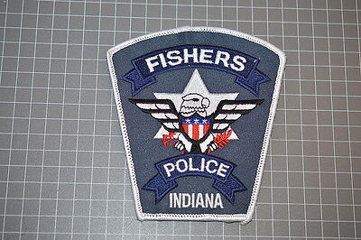 Fishers Indiana Police Department Patch (B9)