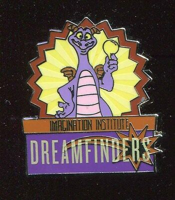 WDW Mascots Mystery Imagination Institute Dreamfinders Figment Disney Pin 115843