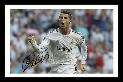 Cristiano Ronaldo - Real Madrid Autographed Signed & Framed Pp Poster Photo 2