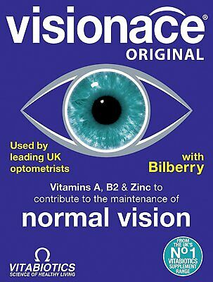 Visionace - Contains Vitamin C D & E Betacarotene One-A-Day - 30tabs